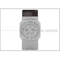 Quality Plastic Aviation Flight Computer Wheel E6B Plotter with Cardboard for Classroom Pilot Students Cya Brand for sale
