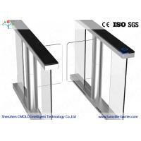 Buy cheap Automatic Speed Gate Flap Turnstile , Waist High Turnstile Baffle Gate from Wholesalers