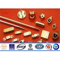 China High Precision Pure Copper Weld Steel Ground Rod Well Agglutination on sale