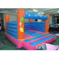 Quality Custom 4 x 4 m Hand Printing Inflatable Bounce House Kids Jumping Castle for sale