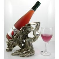 Quality Polyresin cute decorative wine bottle holder for sale