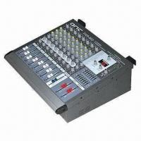 China Audio mixer, power mixer with USB, 4/6/8/12 channels, built-in 16 DSP effects on sale