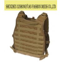 Quality Polyester Military Green Tactical Bulletproof Vest For Women , Ballistic Body Armor for sale