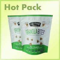 Quality Reclosable Plastic Sealable Stand Up Pouch Bags With Tear Notch Moisture Proof for sale