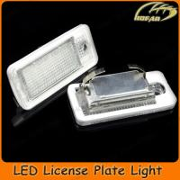 [H02017]LED License Plate Light For Audi A3 S3 A4 S4 A6 C6
