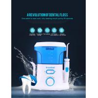 CE RoHS Approved Cordless Water Jet Flosser , 360 Degree Water Pressure Teeth Cleaner