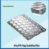 Quality big  bubble 360gsm double sided aluminum foil backed insulation for sale
