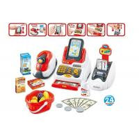 China Pretend Children's Play Toys Cash Register With Scanner And Credit Card Machine on sale