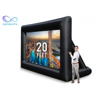 Buy cheap Advertising Inflatable Moving Screen With Back Frame For Outdoor Promotion from wholesalers