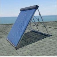 Quality Aluminum alloy manifold heat pipe solar thermal collector for sale