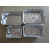 Food Grade Aluminum Foil Containers Vairous Types Recyclable For Kitchen recycling For Supermarket
