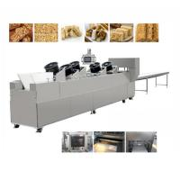 Quality Hot sale sesame peanut candy cereal bar forming cutting machine rice cake making machine price for sale