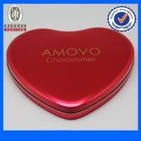 Buy cheap Fancy Pantone Heart Shaped Tin Gift  Boxes , Chocolate Tin Cans from Wholesalers