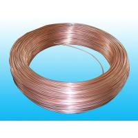 Quality Steel Evaporator Tube 6.35 × 0.65 mm Copper Coated Round Non - Secondary for sale