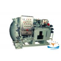 Quality LCD Display Marine Sewage Treatment Plant , 1.5kw Black Water Treatment Plant for sale