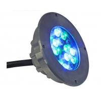Quality Low voltage energy efficient led swimming pool lights inground underwater IP68 15W 18W for sale