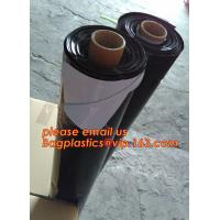 China Custom biodegradable agriculture plastic mulch film,tubular roll with black colour for agricultural mulch film BAGEASE on sale