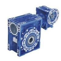 Quality Double Reduction NMRV Worm Gearbox Equivalent Motovario Gear Motor For Industrial for sale