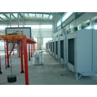 Electrical powder coating spray painting booths with for Powder coating paint booth