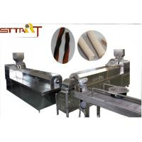 Quality High Efficiency Single Screw Food Extruder , Smart Pet Treat Machine for sale