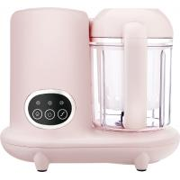 White Home Baby Food Processor , Baby Food Steamer And Blender 220ml Rated Water