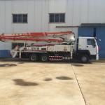 Quality Iso Ccc 37m Concrete Pump Trailer HOWO Concrete Mixer Truck Energy Saving for sale