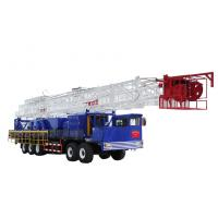Quality XJ350 XJ400 workover rig / Truck Mounted Rig  , Max. 1000KN for sale