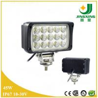 China 2015 high power waterproof IP67 45W led work light for truck , tractor on sale