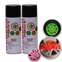 Quality 400ML Acrylic Rubber Spray Paint Exterior Red Dip Wheel Paint for sale