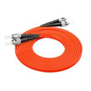 China ST - FC Multimode Fiber Optic Patch Cables , Duplex Fc Fiber Patch Cord on sale