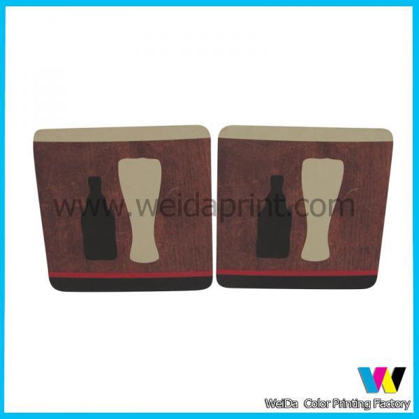 Custom printed paper coasters beer cardboard personalized paper coasters for sale 91124308 - Cardboard beer coasters ...