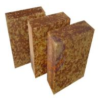 Quality AZM -1680 Silica mullite brick , fire resistant heat proof bricks Brown Color for sale