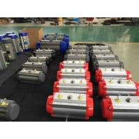 Quality 90 degree pneumatic valve actuator  (AT series) 0~90 Degree Double Acting Pneumatic Actuator for sale