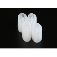 Quality Virgin HDPE MBBR Plastic Filter Media With Good Surface Area And White Color for sale