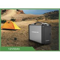 Quality Solar Charge Portable Camping Battery 500W Power Pure Sine Wave 12V Air Cooling for sale