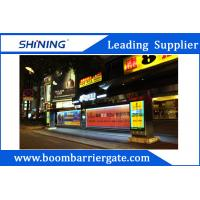 140W Automatic LED Electronic Barrier Gate With 92*830mm Advertising Board
