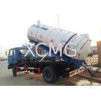 Quality Vaccum Special Purpose Vehicles , 6.5L Septic Pump Truck For Irrigation / Drainage for sale