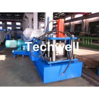 Quality 18 Forming Groups Window Frame Roll Forming Machine With 0 - 10m/min Forming Speed for sale