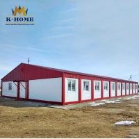 China Fireproof  Portable Construction Office Prefabricated Container Building on sale