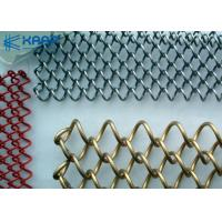 Buy cheap Aluminum Decorative Wire Mesh For Cabinets Weather Proof  Firm Durable Structure from wholesalers
