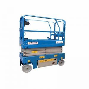 Quality Energy Saving Mobile Scissor Lift Zero Emission Eco Friendly Electric Operation for sale