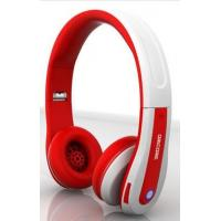 China Red / Pink / Yellow Waterproof Retractable Wireless Stereo Bluetooth Headset 20Hz-20KHz on sale