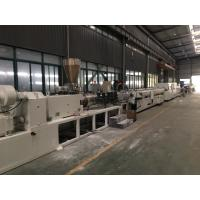 Quality SJSZ Series Conic Double Screw PVC Agriculture Pipe Extrusion Machine Line for sale
