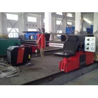 Quality Steel Plate H Beam Welding Line CNC flame plasma cutting machine for sale