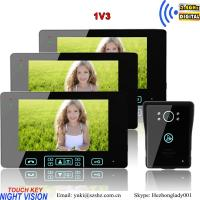 China China security products supplier video door phone apartments intercom unlock on sale