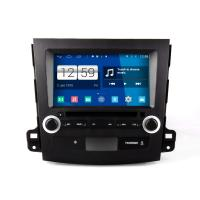 China 8 2 din android car DVD GPS android 4.4.4 HD 1024*600 for MITSUBISHI OUTLANDER with 4 Core CPU, Mirror link on sale