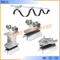 Quality Ball Bearing Cable Trolley Wire Rope Roller For Festoon System Max.Speed 120m/min for sale