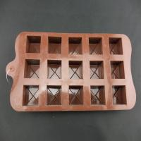 Quality New Buttons Chocolate Candy Cookie Cake Topper Jelly Silicone Mould Mold Tray for sale