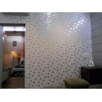 Artistic Indoor Pvc Wall Panel Luxury Flower Laminate Wall