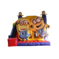 China Durable Pvc Material Inflatable Bounce House Minions Series Theme Wsc-324 on sale